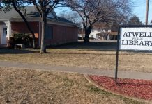 Atwell Library in Hutchins Texas USA