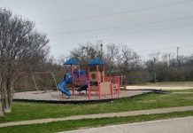 Campbell Park in Hutchins TX USA